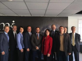 Canadian Parliamentary Delegation Pays A Visit To The Migration Research Institute