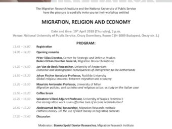 Migration, Religion And Economy