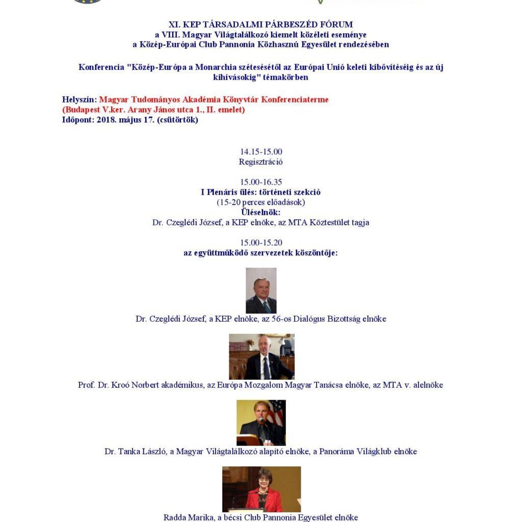 XI Társadalmi Program Page 001