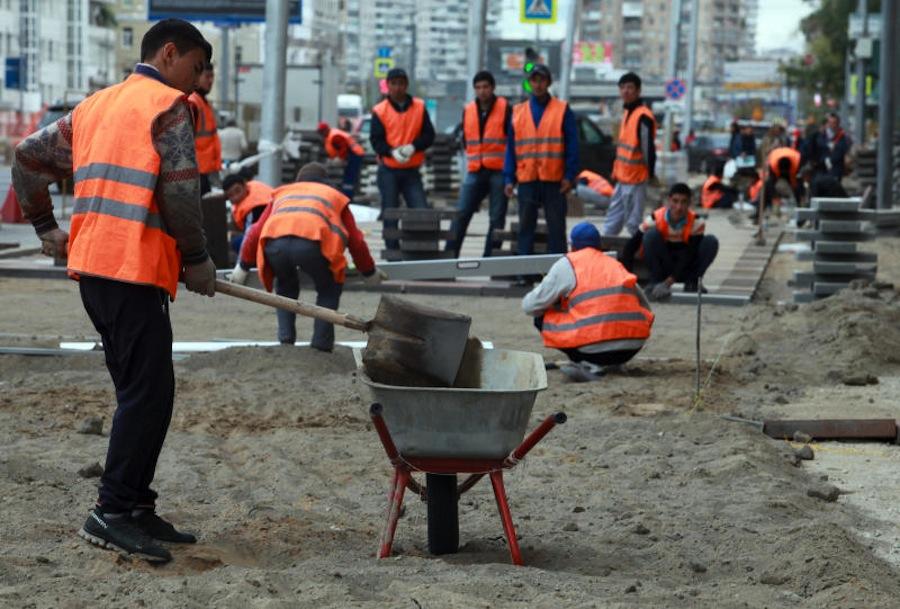 Oroszországban Dolgozó üzbég, Kirgiz és Tádzsik Vendégmunkások Radikalizációja