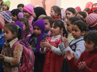 One Week Childhood For Syrian Children