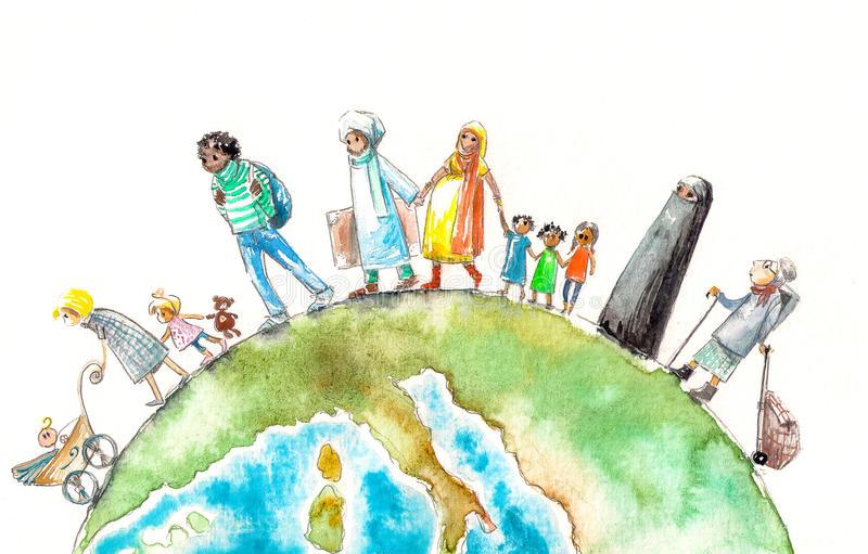 """""""Az Emberek Mindig Is Migráltak. A Világ Története A Migráció Története Is Egyben."""""""