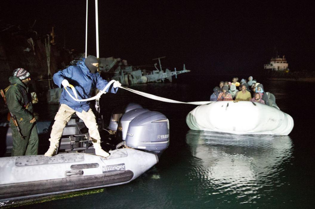 A Közel-keleti Embercsempészet
