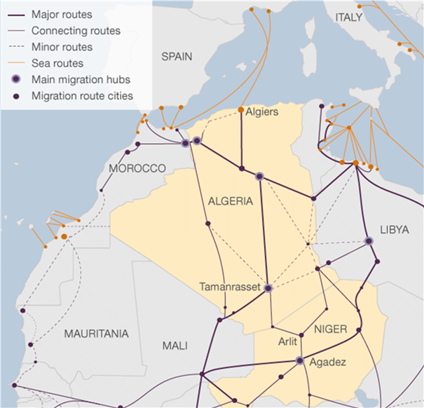 Not a Single Boat: Policing Migration in the Mediterranean Partner Countries