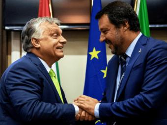 Orbán Viktor Miniszterelnök Munkamegbeszélést Folytat Matteo Salvinivel