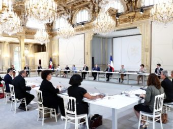 VARIOUS DIRECTIONS ARE REPRESENTED IN THE NEWLY FORMED FRENCH GOVERNMENT
