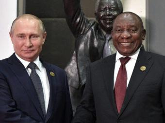 RUSSIA ALSO DEMANDS A PART OF AFRICA
