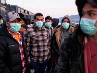 2/3 OF AN IMMIGRANT GROUP TRANSPORTED TO MALTA WAS INFECTED