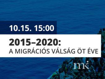2015–2020: A Migrációs Válság öt éve: Stratégiai Hatások és Kilátások, Online Konferencia