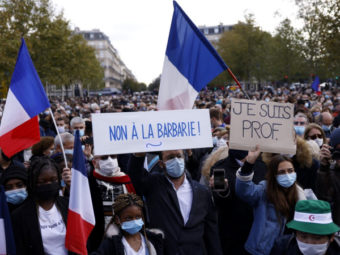 THE ASSASSINATION IN FRANCE WAS AN ACT OF VIOLENCE AGAINST EUROPEAN CIVILIZATION