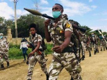 CIVIL WAR BROKE OUT IN ETHIOPIA