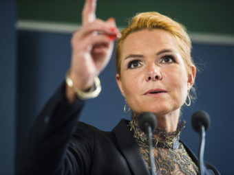 LEGAL ATOMIC BOMB EXPLODED IN DENMARK