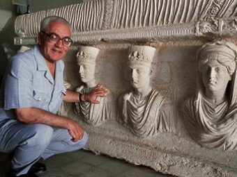 THE BODY OF THE BEHEADED ARCHEOLOGISTS HAS BEEN FOUND BY THE AUTHORITIES