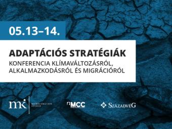 Strategies Of Resilience — Nemzetközi Konferencia Klímaváltozásról, Alkalmazkodásról és Migrációról, 2021. Május 13—14.